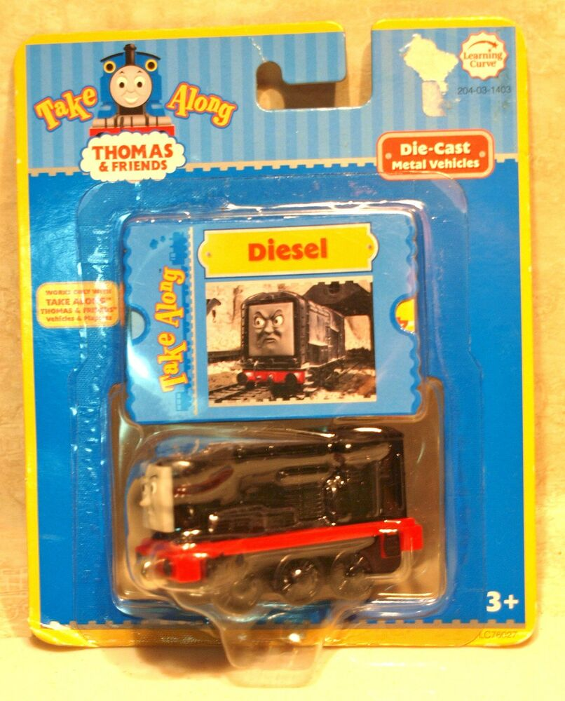 2005 Take Along Thomas the Tank Engine & friends Die Cast ...