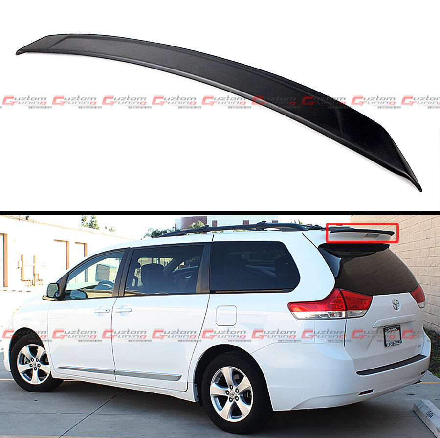 Mp Style Add On Rear Roof Sport Spoiler Wing For 2011 2017