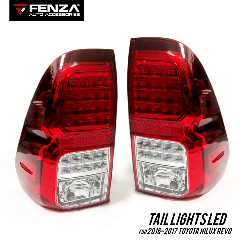 Tail Lights Set For Toyota Hilux Revo 2016 2017 Led Tail