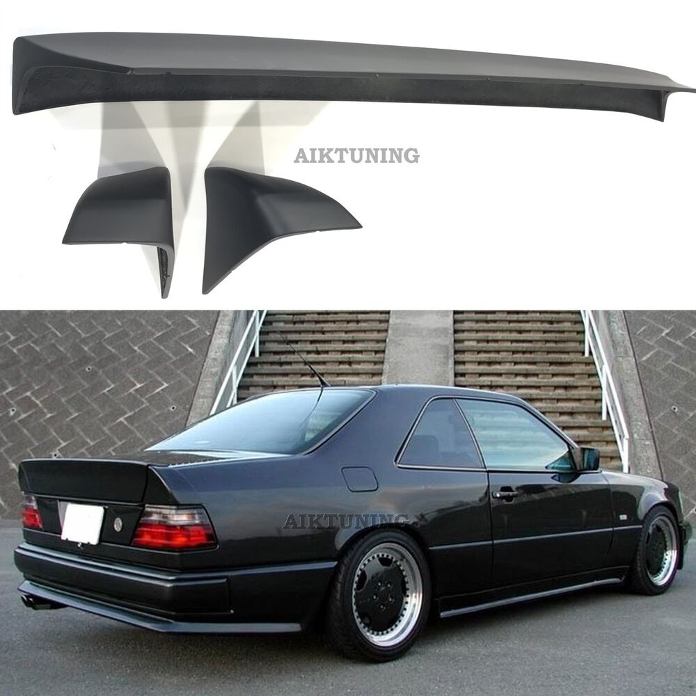 Benz Drift Car >> Mercedes-Benz W124 AMG Style Boot Tail Trunk Spoiler Wing Ducktail Lip Coupe | eBay