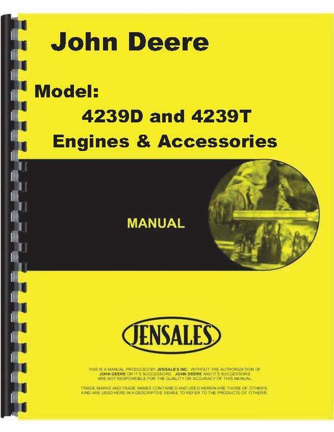 john deere 4239d 4-293d 4-239t engine parts manual (jd-p-pc3153) | ebay john deere schematics engine 675cc john deere 855 engine diagram