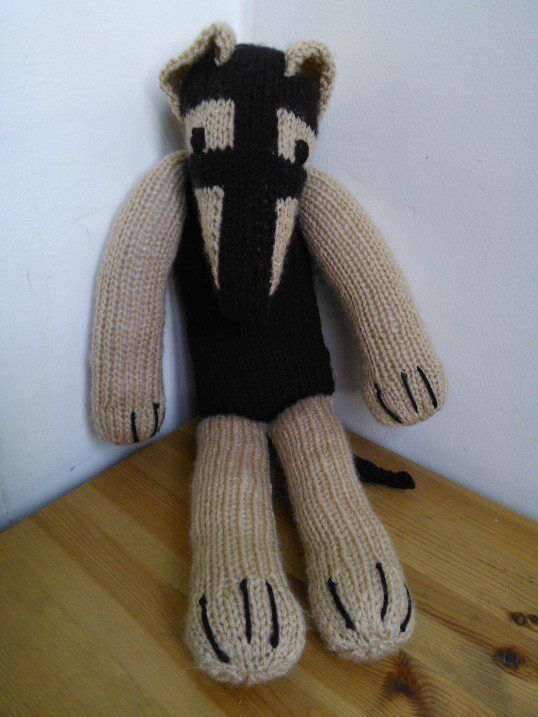 Knitting Patterns For Greyhound Dogs : Sock Dog Izzy the Lurcher / Greyhound Knitting Pattern / Toy eBay