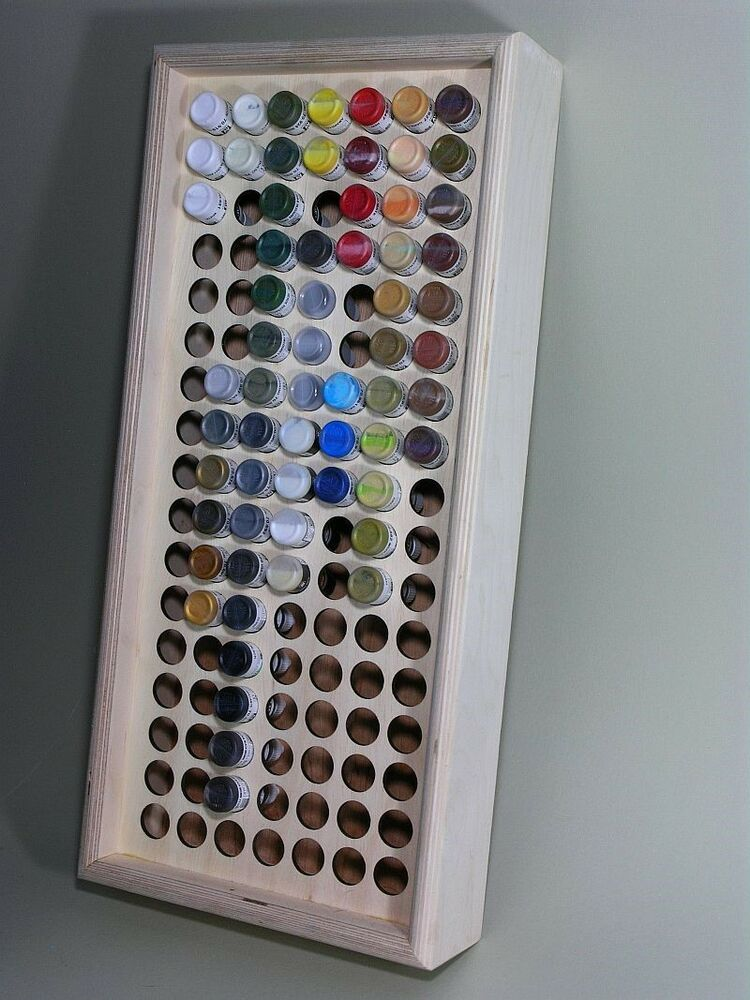 Paint or ink storage rack stand holds 119 game color for Pill bottle storage rack