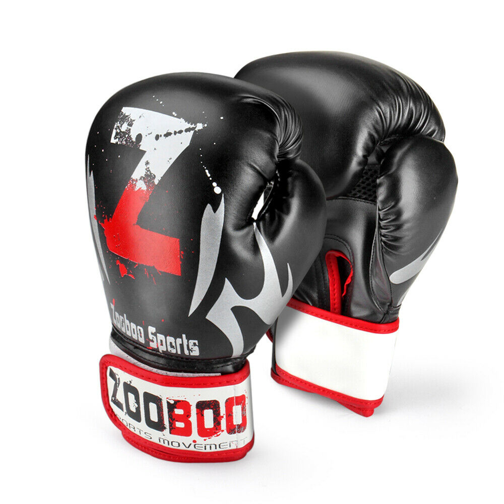 Boking Gloves: Training Boxing Gloves Grappling UFC Sparring Fight Punch