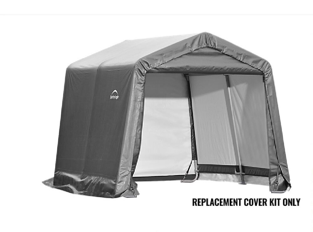 Shelterlogic Replacement Cover Kit 10x10 90504 Gray For