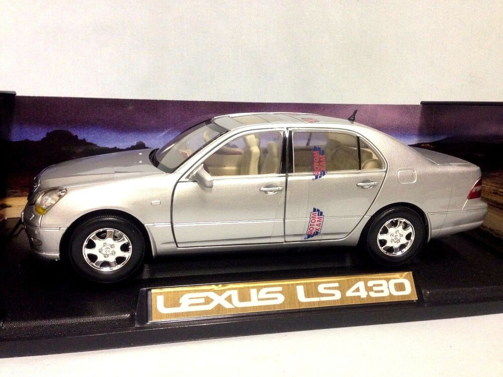 2002 Lexus Ls 430 Collectibles 1 18 Scale Diecast Motormax Toys Silver Ebay