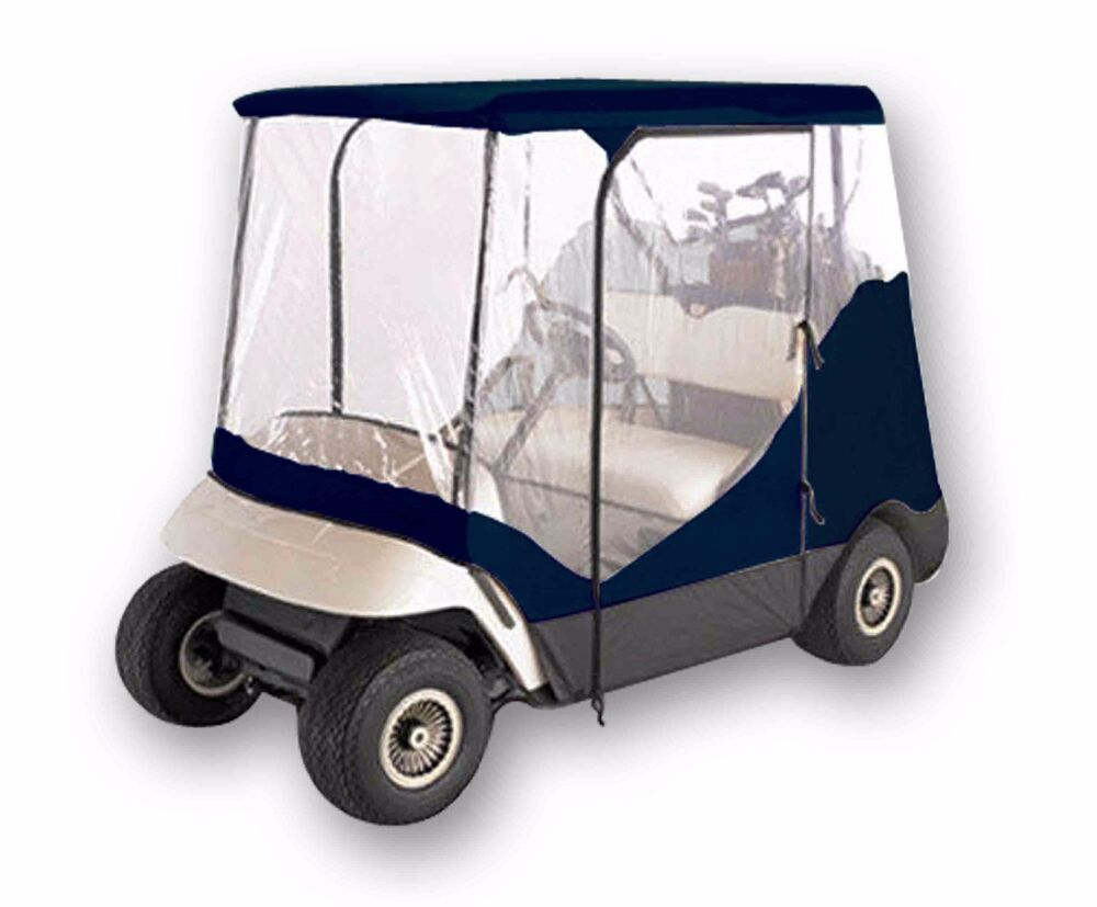 new 2 person driving golf cart cover fit yamaha ez go. Black Bedroom Furniture Sets. Home Design Ideas