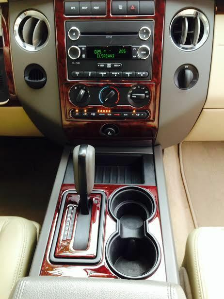 ford expedition le xlt limited interior wood dash trim kit set    ebay