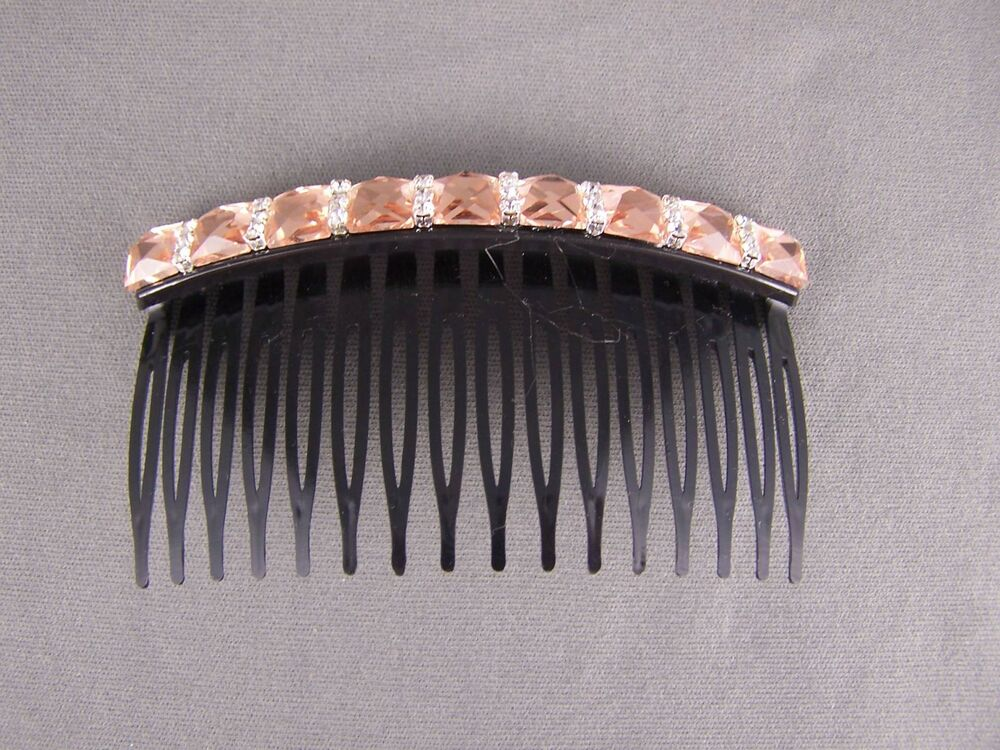 how to use side hair combs