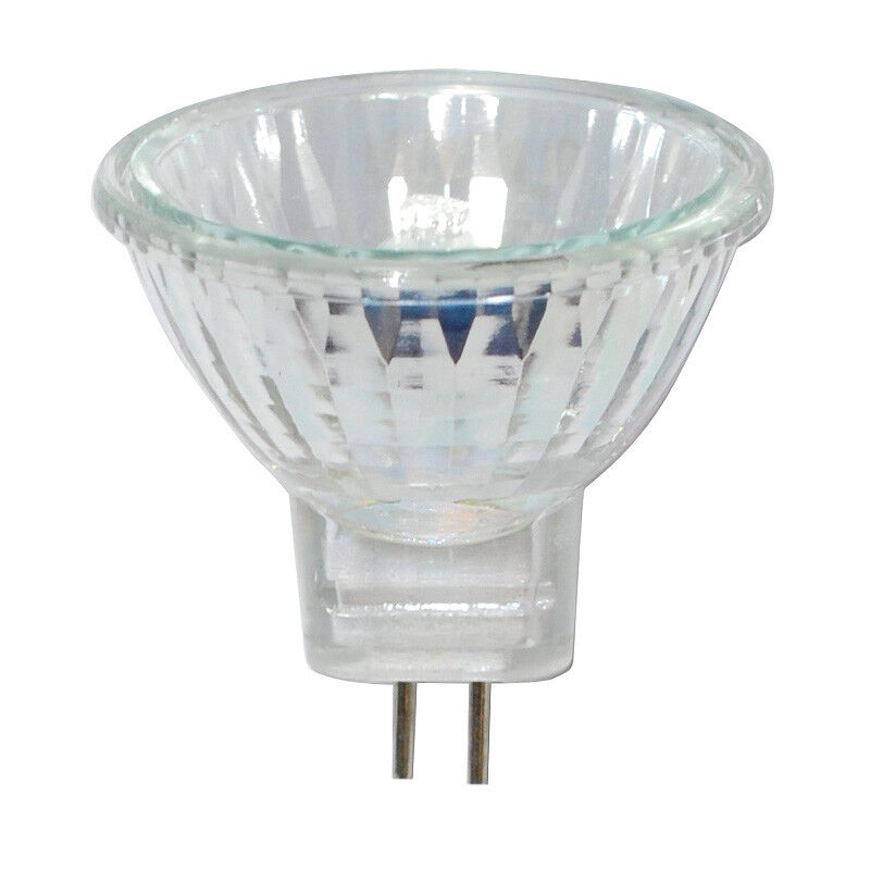 bulbamerica 10w 12v mr11 gu4 bipin base narrow flood mini reflector bulb ebay. Black Bedroom Furniture Sets. Home Design Ideas
