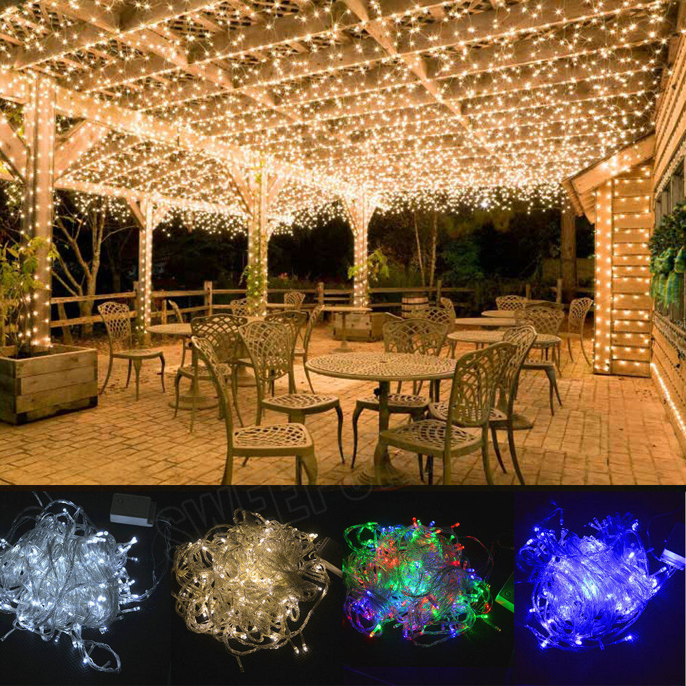 10/20/30/40/50M Starry LED String Fairy Lights Indoor