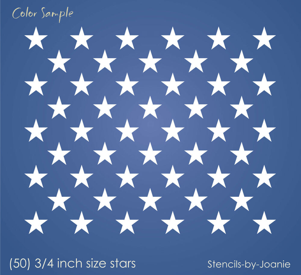 Invaluable image intended for free printable american flag star stencil