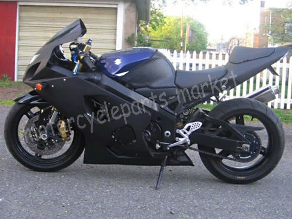 matte black fairing for k1 2001 2002 2003 suzuki gsxr 600 750 01 02 03 injection ebay. Black Bedroom Furniture Sets. Home Design Ideas
