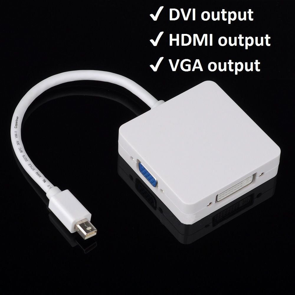 Vga Adapter F R Macbook Air Adapter Lightning Ethernet Adapter Android Getview Apple Adapter For Europe: Mini Display Port Thunderbolt To VGA HDMI DVI Adapter For