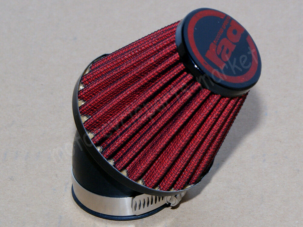 universal racing air filter 48mm intake scooters moped atv