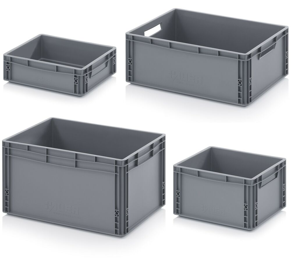 euro containers stacking plastic crates heavy duty. Black Bedroom Furniture Sets. Home Design Ideas