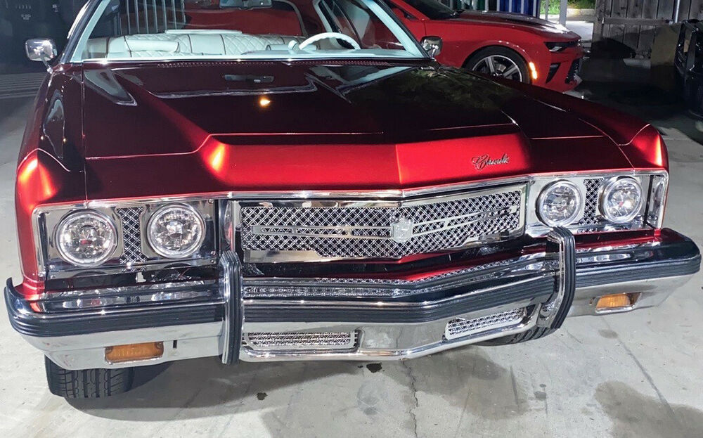 1973 Chevy Impala Chevy Caprice chrome mesh grille grill ...