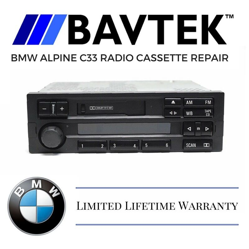 Bmw E38: BMW E36 318i 323is 325i Alpine C33 Radio Cassette Tape