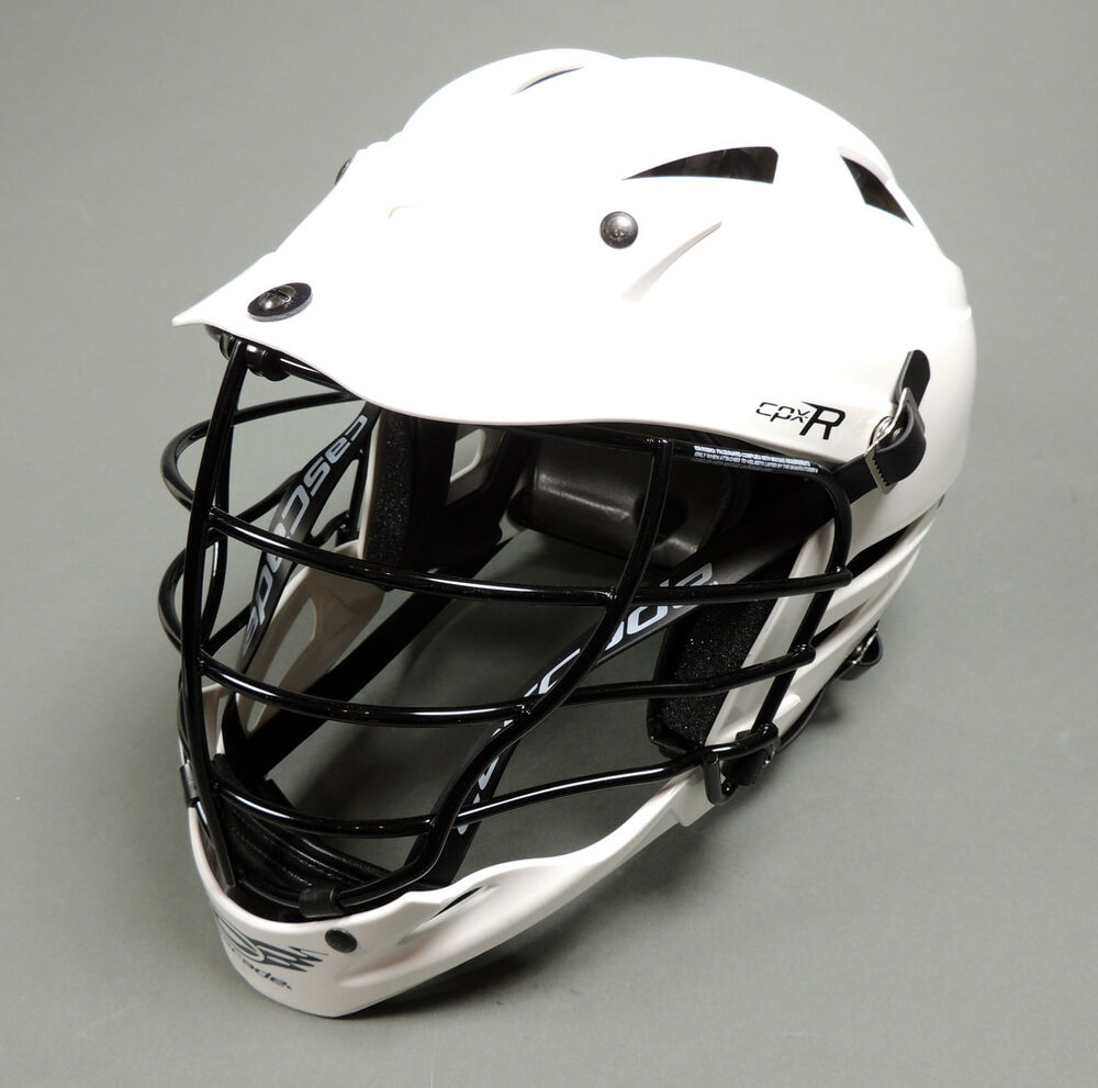 NEW Cascade Lacrosse CPX-R One Size Fits All White Lax