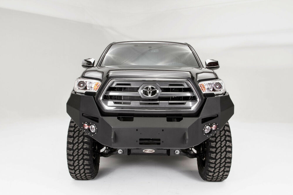 2016 toyota tacoma fab fours premium front winch bumper tt16 b3651 1 ebay. Black Bedroom Furniture Sets. Home Design Ideas