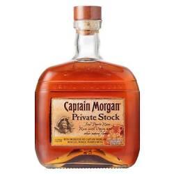 Captain Morgan Private Stock Spiced Rum (1 Litre)