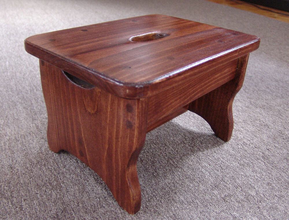 9 Quot X12 Quot Handcrafted Wood Foot Or Step Stool Bedside