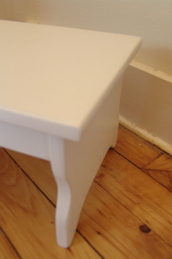 Handcrafted Heavy Duty Step Stool 27 Quot L Wood Bedside Fits