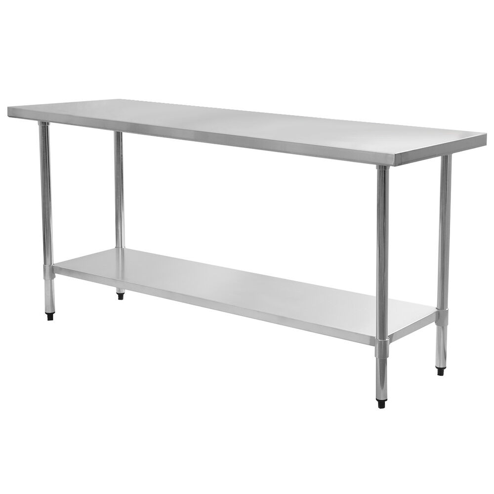 24 X 72 Stainless Steel Work Prep Table Commercial