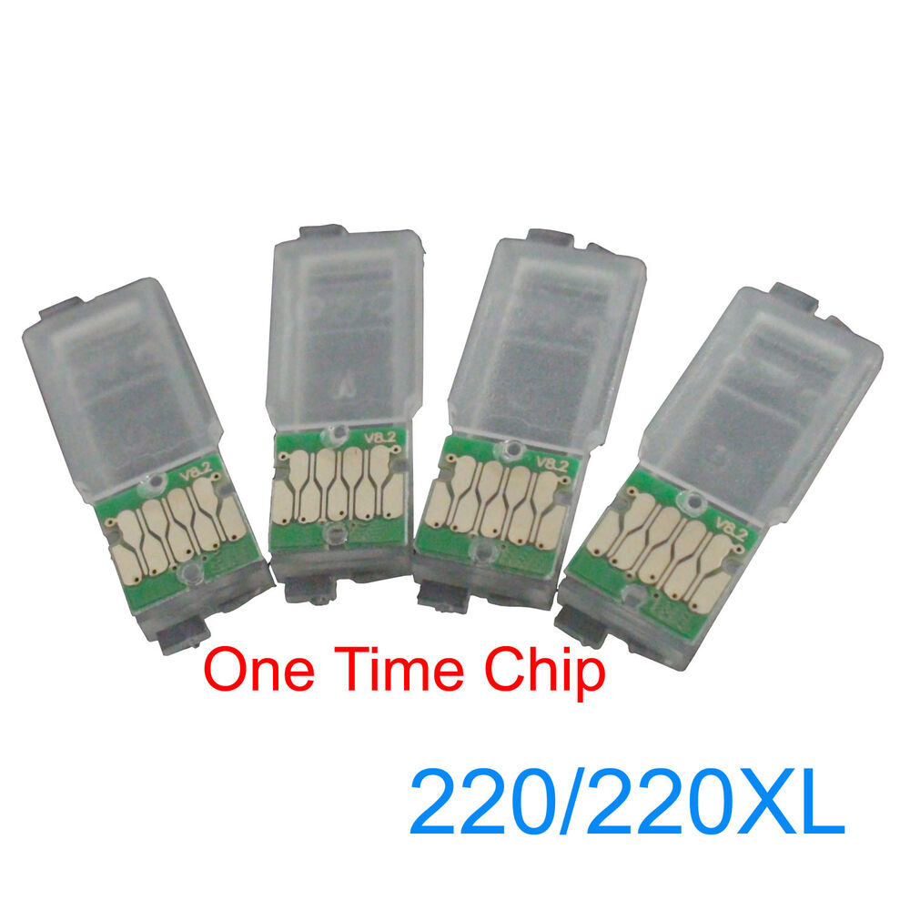 ONE TIME Chips For Epson WF-2630 WF-2650 WF-2660