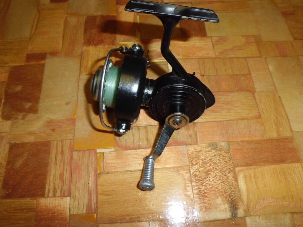 Vintage johnson sure spin spinning reel made in usa ebay for Fishing reels made in usa