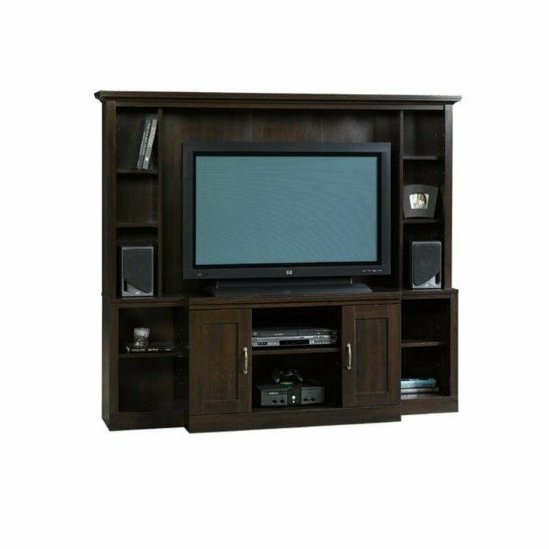 Sauder Select Large Entertainment Center Wall Unit In