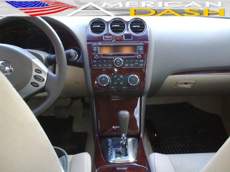 2007 2008 2009 Interior Wood Dash Trim Kit For Nissan