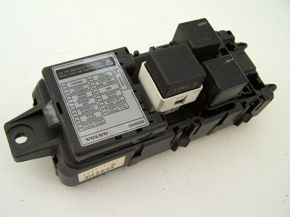 Volvo S40 Fuse Box 2001 | Images of Wiring Diagrams on
