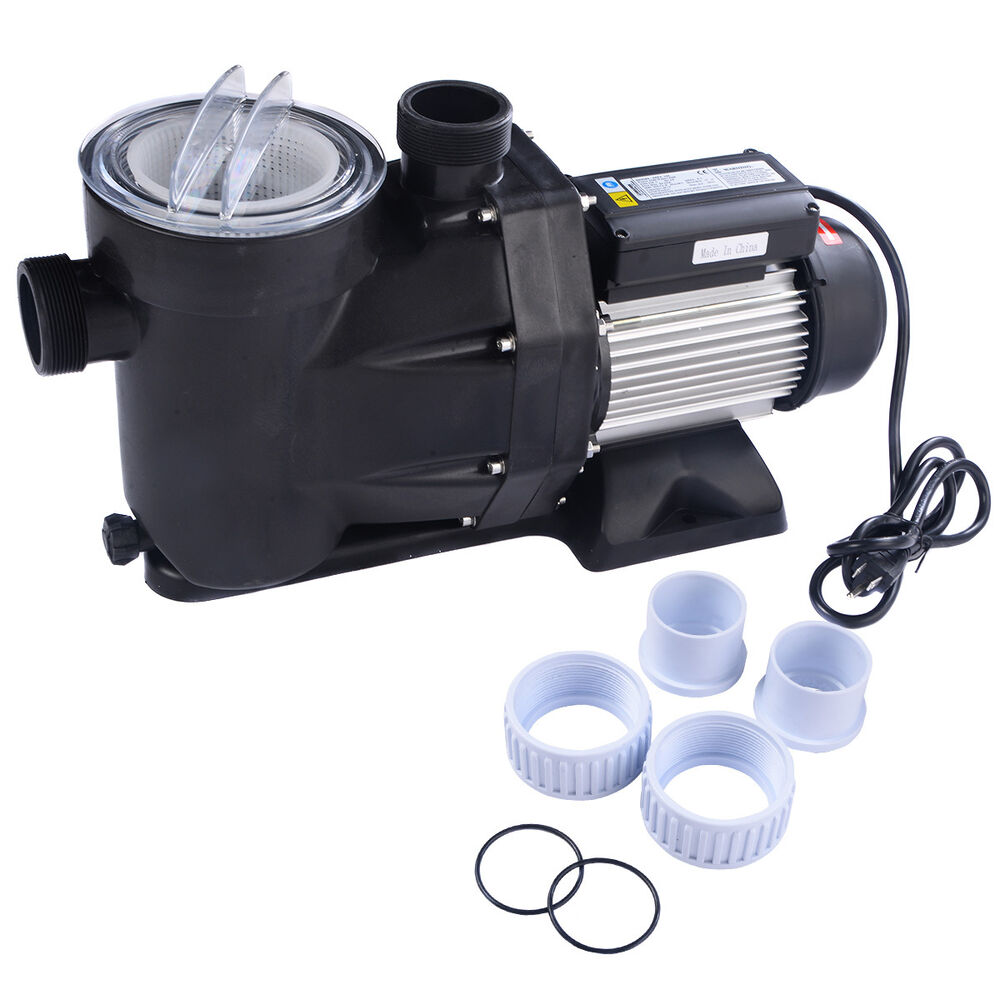 1 5hp Swimming Pool Electric Pump Water Above Ground Spa Dc 5040 Gph 1 1 2 Npt Ebay