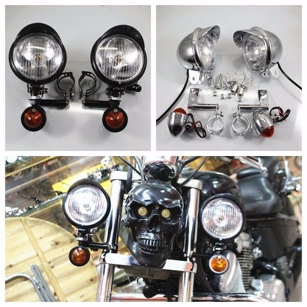 Spot Driving Lights For Harley Touring Bikes