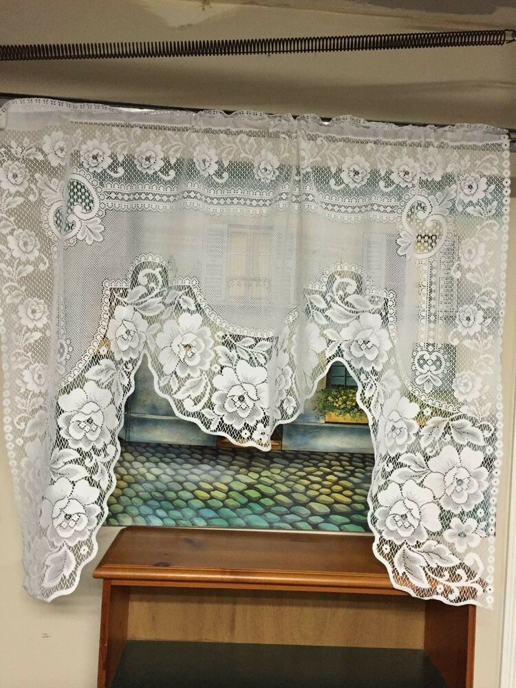 Farmhouse White Curtains