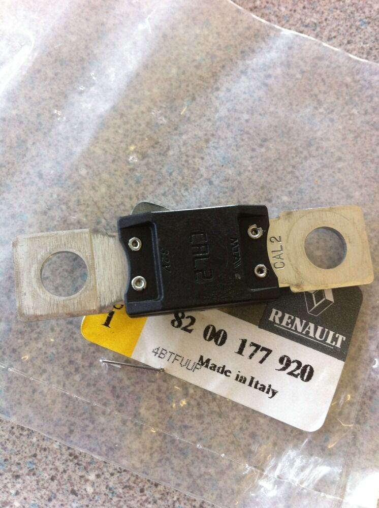 renault master megane scenic battery fuse link cal 2 ebay. Black Bedroom Furniture Sets. Home Design Ideas