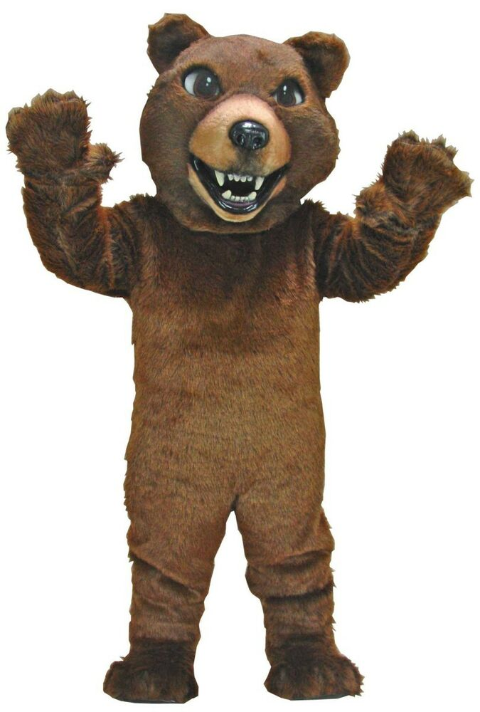 Tempting bear costume for adults are