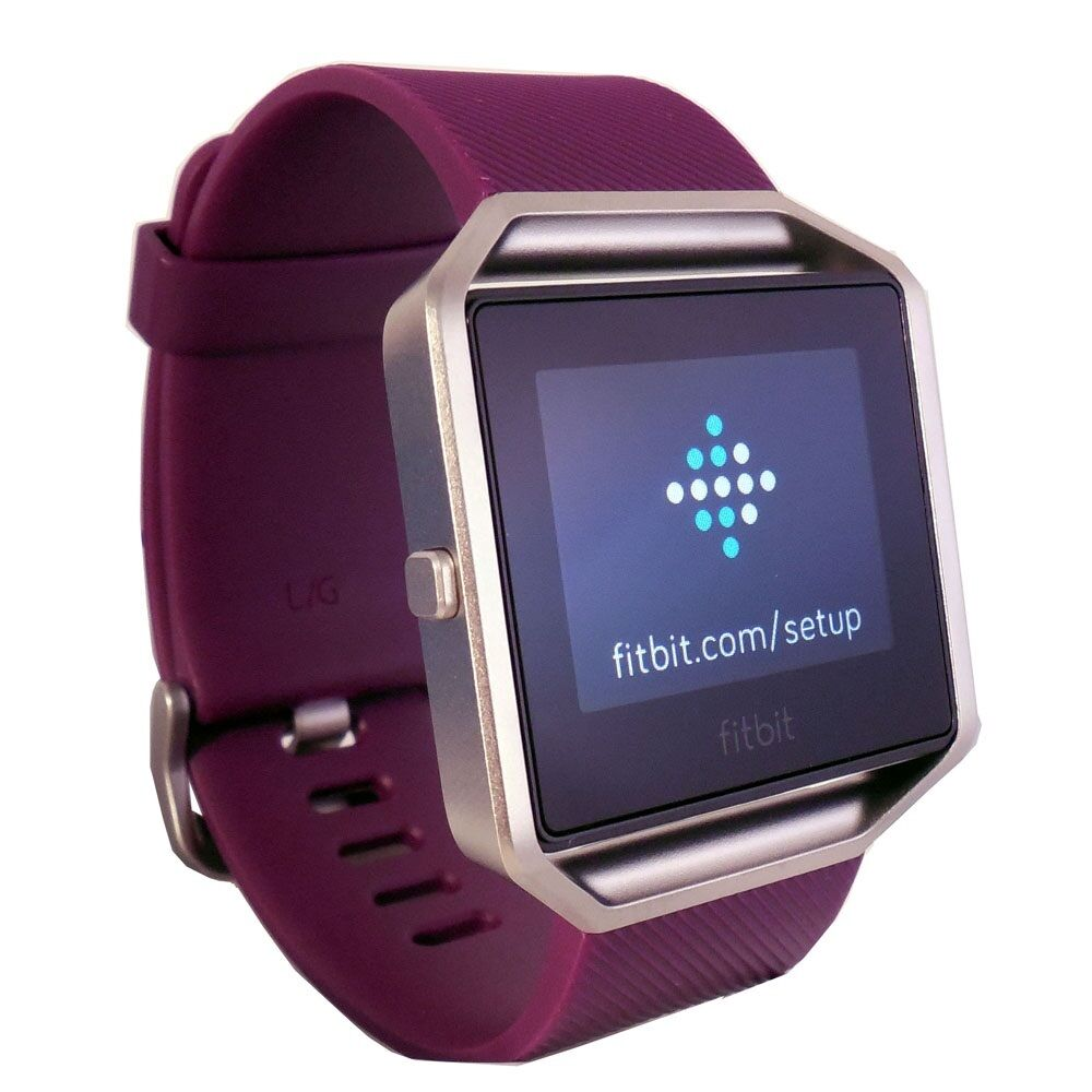 how to know if the fitbit blaze is charging