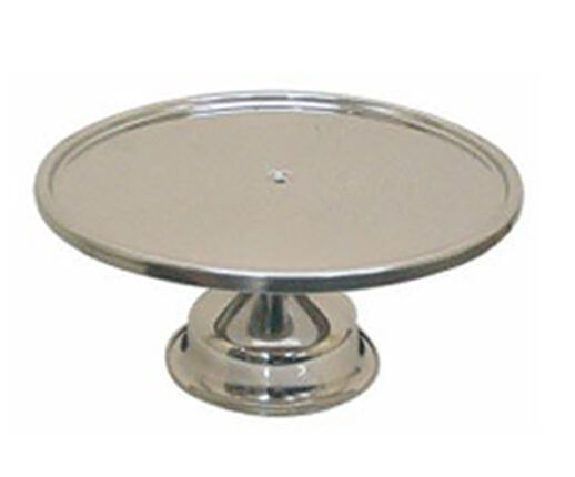 Thunder Group Stainless Steel Cake Stand 13 1 4 Inch Ebay