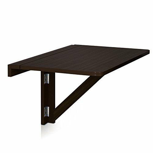 Furinno fnaj 11019 1 wall mounted drop leaf folding table - Wall mounted folding table ...