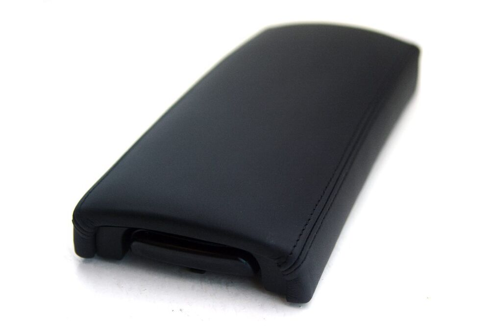 armrest center console leather cover for toyota prius 04 09 black ebay. Black Bedroom Furniture Sets. Home Design Ideas