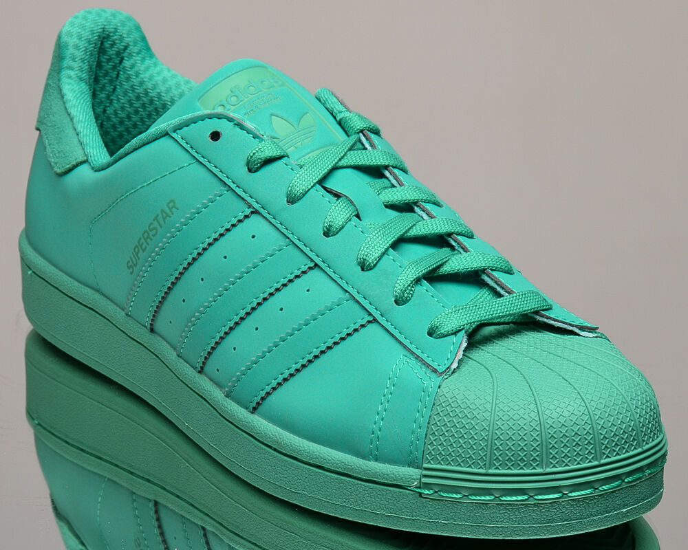 71a8030389eae Details about adidas Originals Superstar adicolor men lifestyle sneakers  NEW green mint