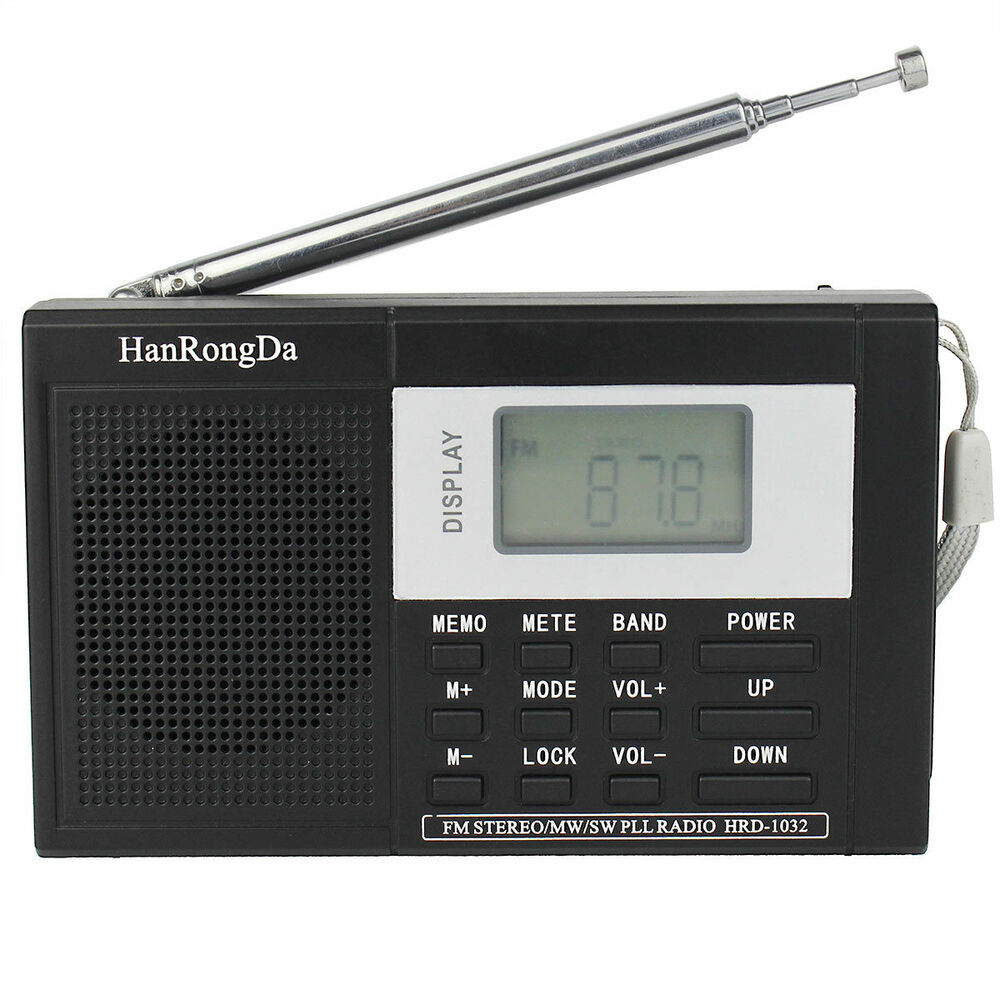 pocket dsp fm mw sw radio shortwave receiver digital. Black Bedroom Furniture Sets. Home Design Ideas