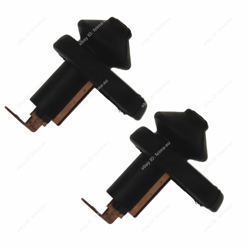 2pcs universal car vehicle interior door courtesy light switch button part black ebay. Black Bedroom Furniture Sets. Home Design Ideas