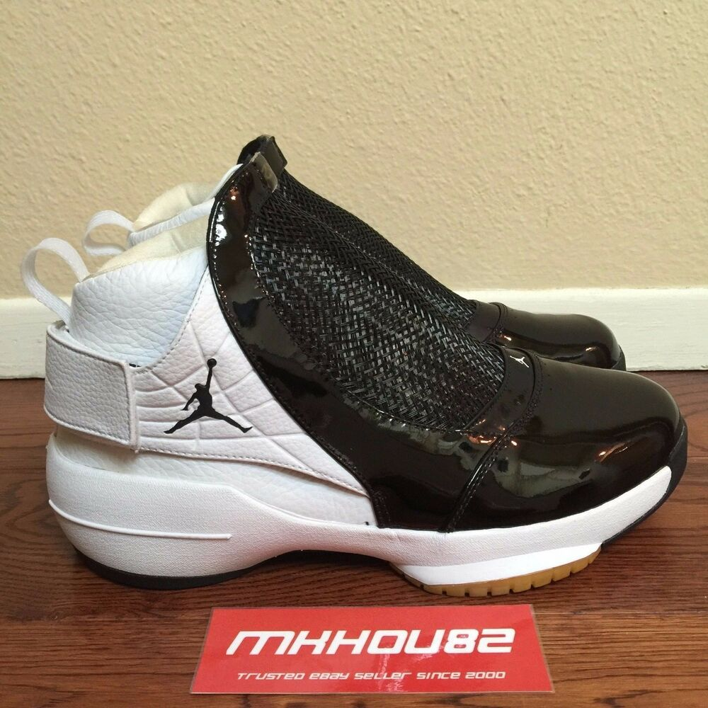 b8273f76112201 Details about New Nike Air Jordan 19 XIX OG West Version Original 2004  Black White Size 11