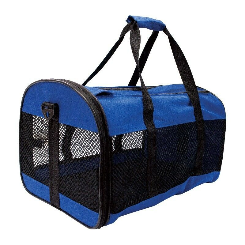 Pet Carrier Collapsible Small Cat Dog Rabbit Travel Vet
