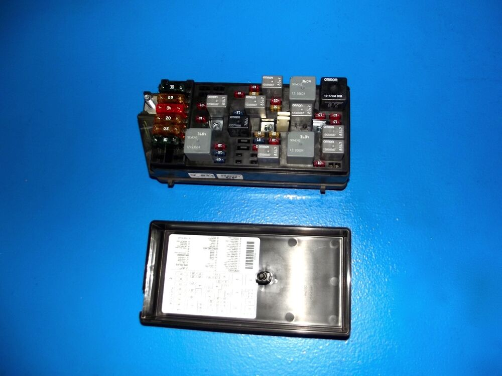 99 Corvette C5 Underhood Wiring Junction Fuse Box Block 12176988