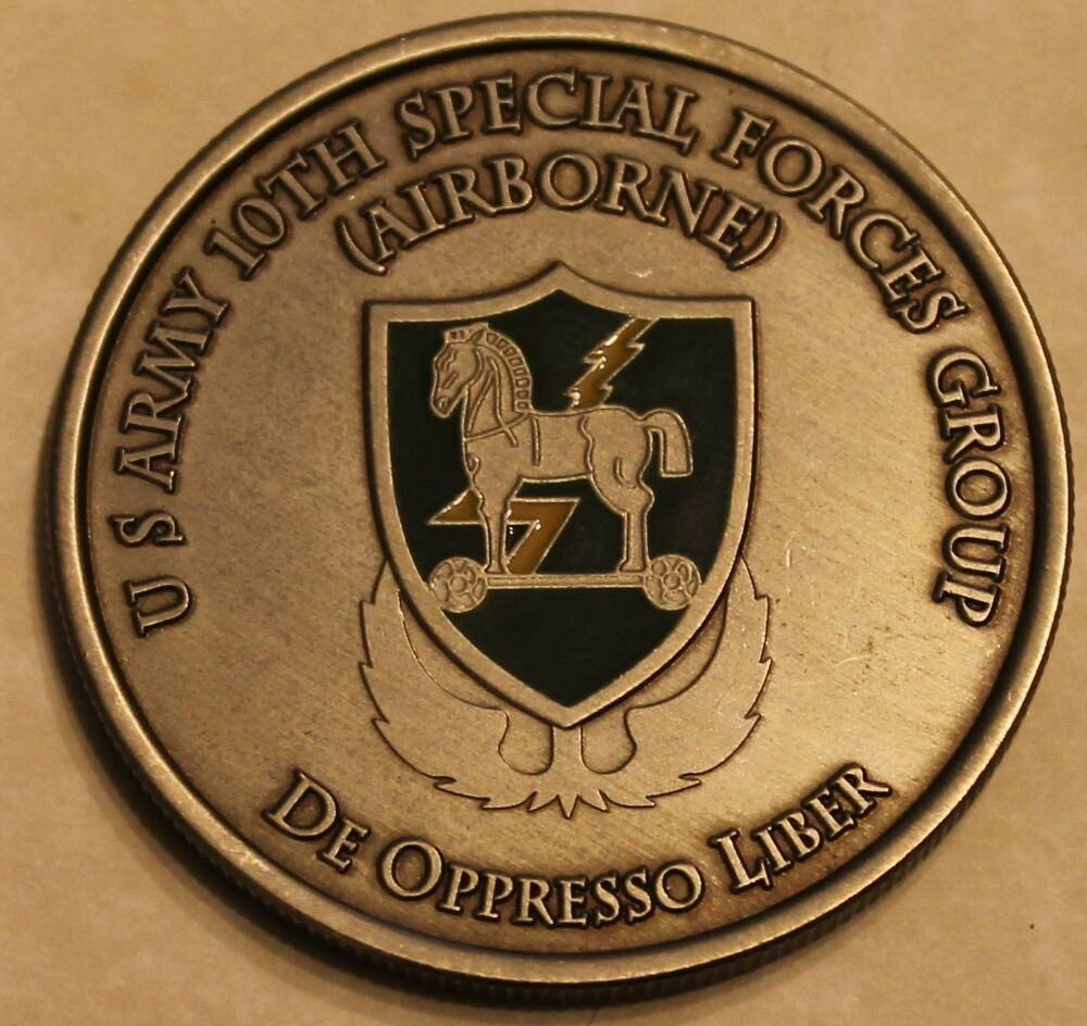 10th Special Forces Group Airborne Commander Amp Csm Army