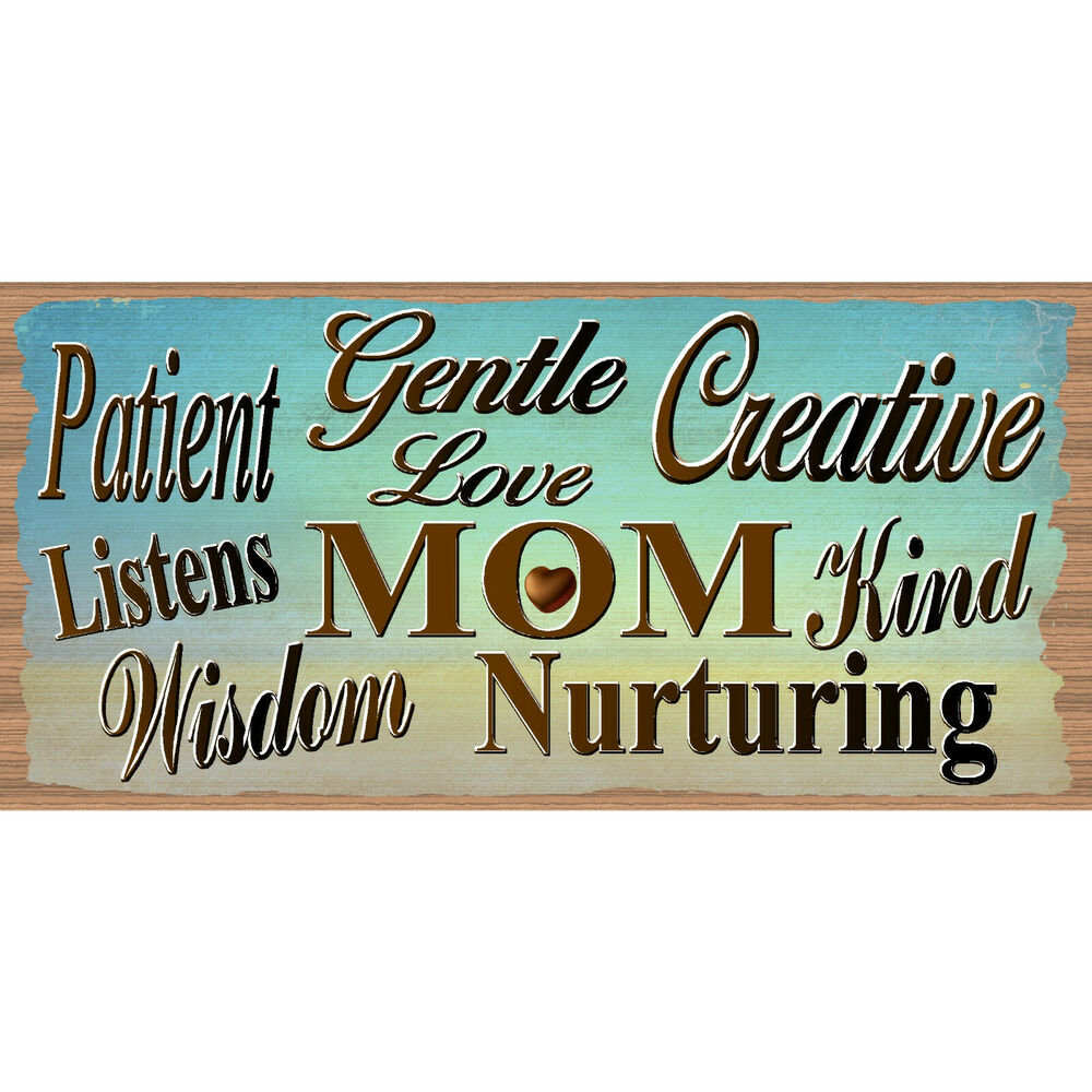 Mom Wood Signs Mothers Day Gs 759 Mother Sign Mother Plaque Gigglesticks Ebay